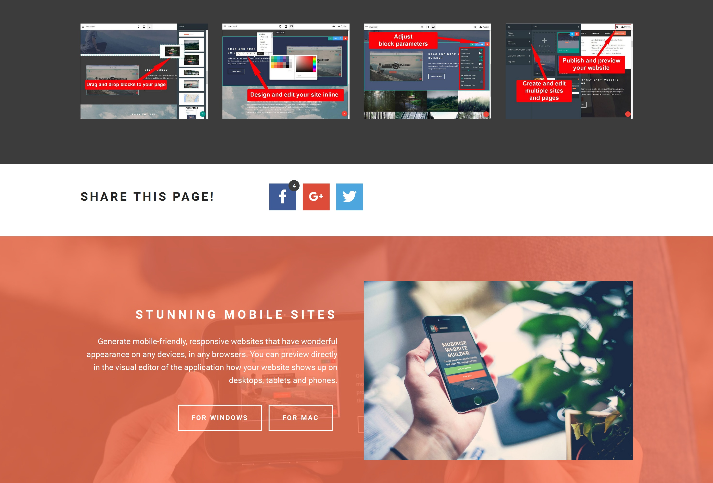 Best Mobile Web Page  Creator