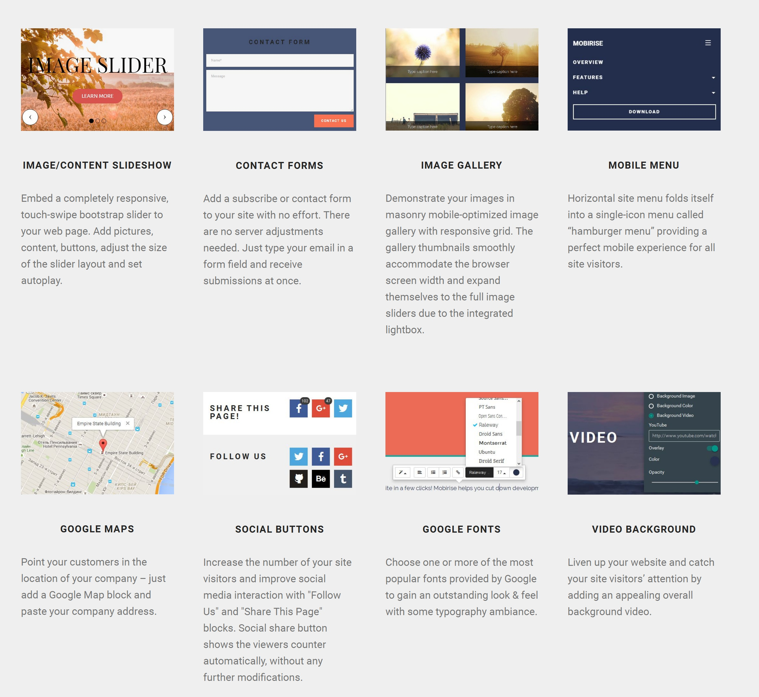 Free HTML5 Web Page  Builder Software